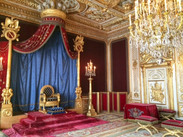 Napoleon's throne room