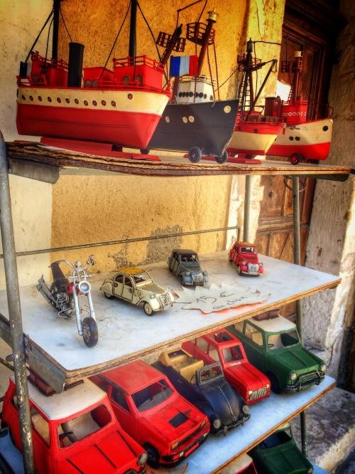Antique shop finds