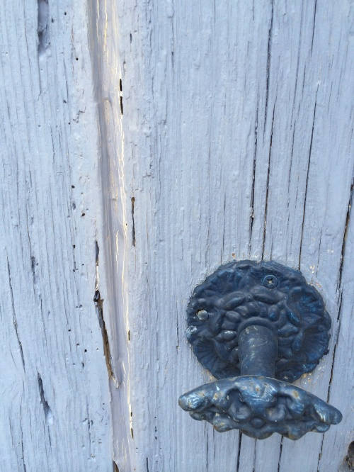A gorgeous old door and handle