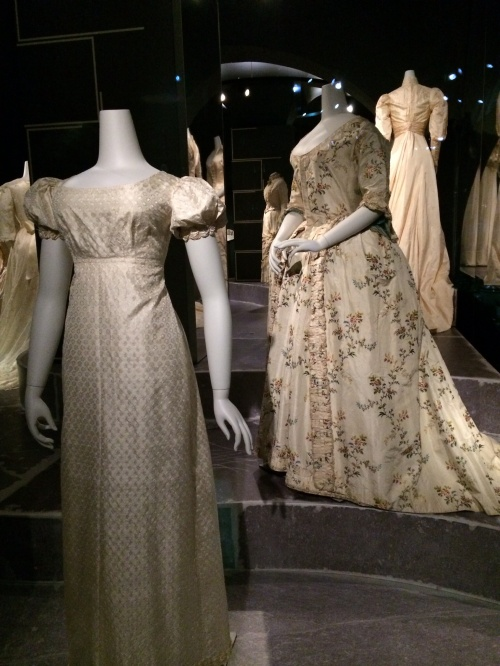 Wedding dresses from the 1700s in Holland