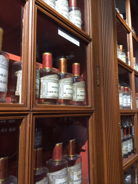 The old medicine bottles