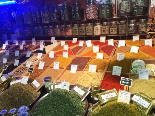 Some spices at the market